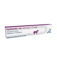 Equibactin vet. (333 mg/g + 67 mg/g) Oral Paste for horses