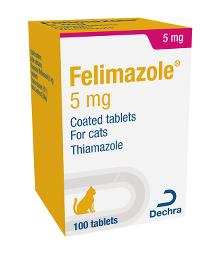 Felimazole® 5 mg coated tablets for cats