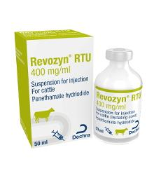 Revozyn RTU 400 mg/ml suspension for injection for cattle