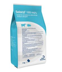 Solacyl® 1000 mg/g powder for oral solution for cattle and pigs